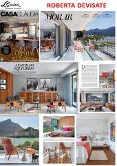 Projeto da designer de interiores ROBERTA DEVISATE na revista Casa Claudia de fevereiro de 2017