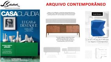 ARQUIVO CONTEMPORÂNEO na revista Casa Claudia de março de 2017