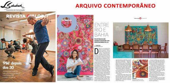 ARQUIVO CONTEMPORÂNEO na Revista O Globo em 5 de março de 2017