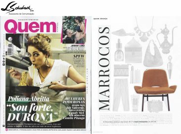 ARQUIVO CONTEMPORÂNEO na revista Quem do dia 24 de março de 2017