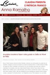 CLAUDIA PIMENTA E PATRICIA FRANCO no site ANNA RAMALHO em 7 de abril de 2017