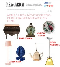 clientes no site CASA E JARDIM em 15 de março de 2017