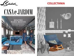 COLLECTANIA na revista CASA E JARDIM de abril de 2017