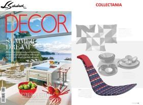 COLLECTANIA na revista DECOR edição121 de janeiro de 2017 - parte 2