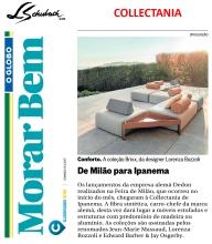 COLLECTANIA no caderno MORAR BEM, do jornal O GLOBO, em 16 de abril de 2017