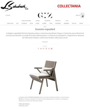 COLLECTANIA no portal GIZ em 15 de março de 2017