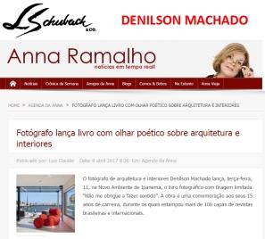 DENILSON MACHADO no site ANNA RAMALHO em 8 de abril de 2017