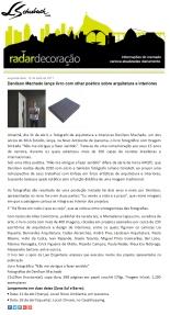 DENILSON MACHADO no site RADAR DECORAÇÃO em 10 de abril de 2017