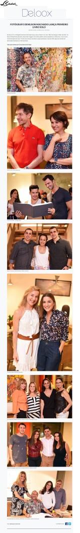 NOVO AMBIENTE e DENILSON MACHADO no site DELOOX em 12 de abril de 2017
