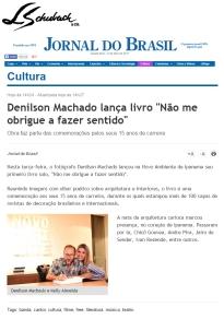 NOVO AMBIENTE e DENILSON MACHADO no site JORNAL DO BRASIL em 12 de abril de 2017