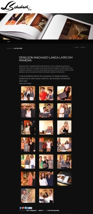 NOVO AMBIENTE e DENILSON MACHADO no site UM OLHAR em 12 de abril de 2017