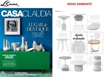 NOVO AMBIENTE na revista CASA CLAUDIA de março de 2017 - parte 1