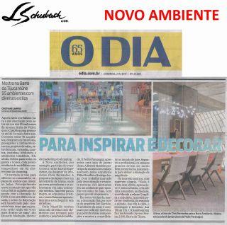 NOVO AMBIENTE no jornal O DIA de 2 de abril de 2017
