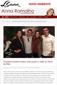 NOVO AMBIENTE no site ANNA RAMALHO em 7 de abril de 2017