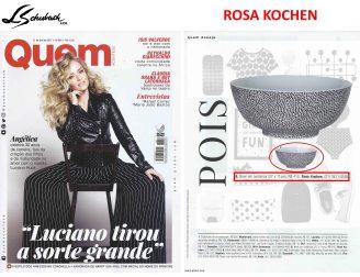ROSA KOCHEN na revista QUEM ACONTECE em 19 de abril de 2017