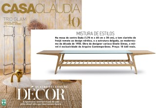 Arquivo Contemporâneo na revista CASA CLAUDIA de maio de 2017