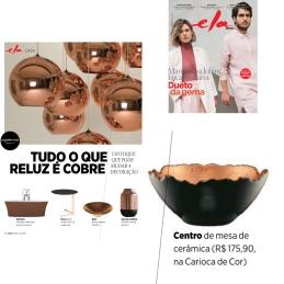 CARIOCA DE COR na ELA REVISTA, do jornal O GLOBO, em 14 de maio de 2017
