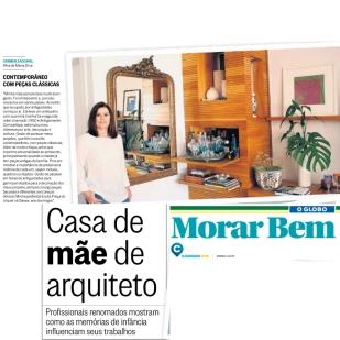 CARMEN ZACCARO no caderno MORAR BEM do jornal O GLOBO de 14 de maio de 2017