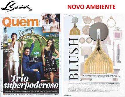 NOVO AMBIENTE na revista QUEM ACONTECE de 24 de maio de 2017