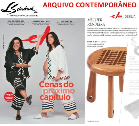ARQUIVO CONTEMPORÂNEO na Ela Revista em 25 de junho de 2017
