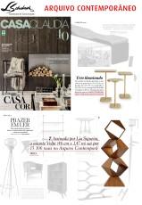ARQUIVO CONTEMPORÂNEO na revista Casa Claudia de junho de 2017