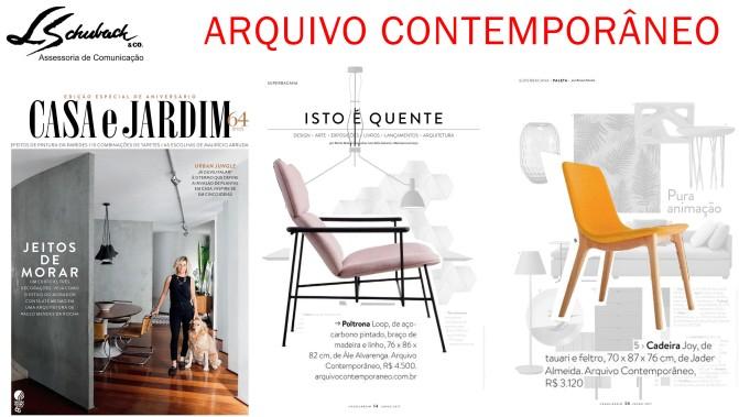 ARQUIVO CONTEMPORÂNEO na revista Casa e Jardim de junho de 2017_2