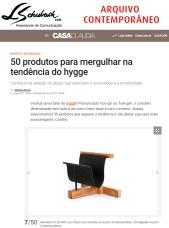 ARQUIVO CONTEMPORÂNEO no site da Casa Claudia em 5 de junho de 2017