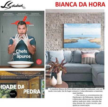 BIANCA DA HORA na ELA REVISTA, do jornal O GLOBO, em 9 de julho de 2017