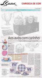 CARIOCA DE COR no caderno CASA do jornal O DIA de 23 de julho de 2017