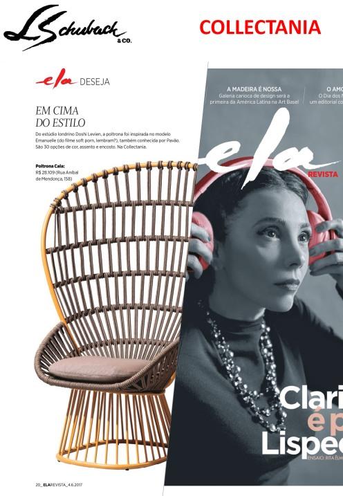 COLLECTANIA na ELA REVISTA, do jornal O Globo, em 04 de junho de 2017