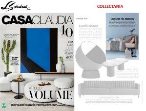 COLLECTANIA na revista CASA CLAUDIA em julho de 2017
