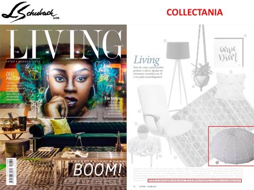 COLLECTANIA na revista LIVING de julho de 2017