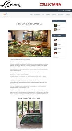 COLLECTANIA no site CONEXÃO DECOR em 1 de junho de 2017