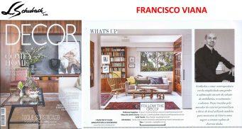 FRANCISCO VIANA na revista DECOR de julho de 2017 - versão 2