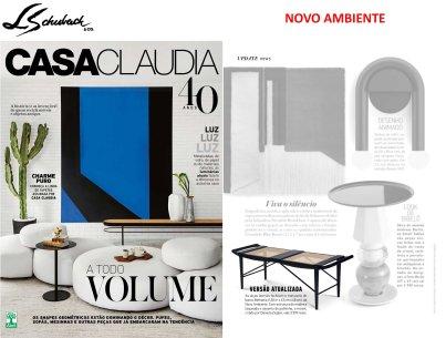 NOVO AMBIENTE na revista CASA CLAUDIA em julho de 2017