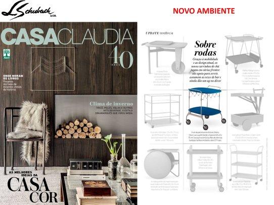 NOVO AMBIENTE na revista CASA CLAUDIA em junho de 2017 - parte 1