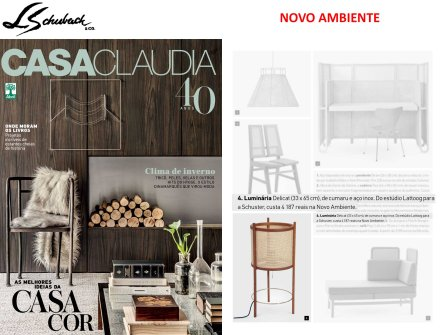 NOVO AMBIENTE na revista CASA CLAUDIA em junho de 2017 - parte 2