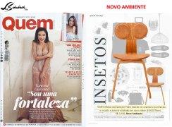 NOVO AMBIENTE na revista QUEM ACONTECE em 5 de julho de 2017