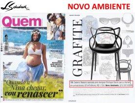 NOVO AMBIENTE na revista QUEM de 28 de junho de 2017