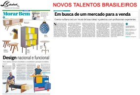 NOVOS TALENTOS BRASILEIROS no caderno Morar Bem em 30 de julho de 2017