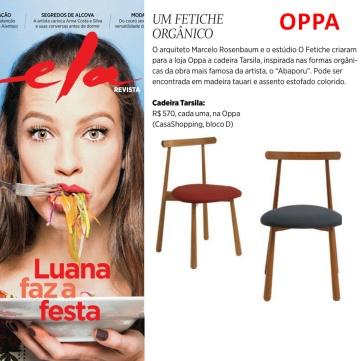 OPPA na Ela Revista em 18 de junho de 2017