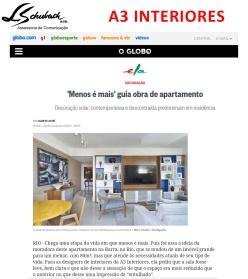 Projeto da A3 INTERIORES no Ela Digital em 16 de junho de 2017