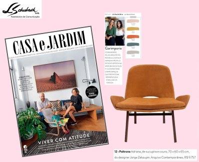 ARQUIVO CONTEMPORÂNEO na revista Casa e Jardim de agosto de 2017
