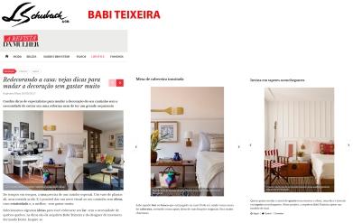 BABI TEIXEIRA no site A REVISTA DA MULHER em 20 de agosto de 2017