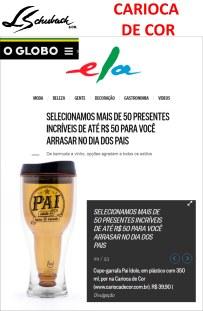 CARIOCA DE COR no ELA DIGITAL do jornal O GLOBO em 10 de agosto de 2017