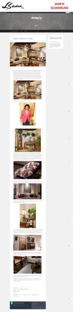 JANETE OLDEMBURG no blog DESIGN UP em 28 de agosto de 2017