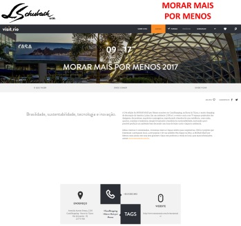 MORAR MAIS POR MENOS no site VISIT.RIO em 8 de agosto de 2017