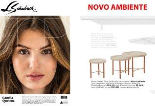 NOVO AMBIENTE na revista TOP MAGAZINE de agosto de 2017