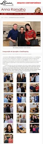 ARQUIVO CONTEMPORÂNEO no portal Anna Ramalho em 20 de setembro de 2017