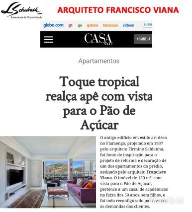 FRANCISCO VIANA no site CASA VOGUE em 24 de setembro de 2017